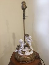 Antique Angel/ Cherub Lamp As Is in Naperville, Illinois
