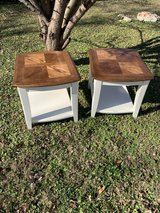 farmhouse side, lamp tables set in Fort Campbell, Kentucky