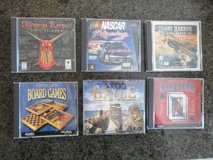 Collection of 30 vintage computer games in like new condition - selling as one lot in Tomball, Texas