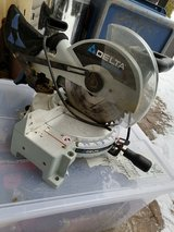 Delta Shopmaster Miter Saw (110) in Ramstein, Germany