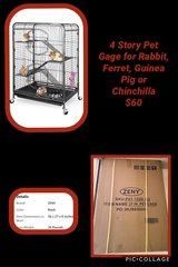 """4 Story Small Animal Cage 37"""" *NEW* in Baytown, Texas"""