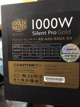 Coolermaster Silent Pro Gold 1000w Power Supply in Okinawa, Japan