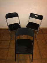 3 Folding Chairs in Ramstein, Germany