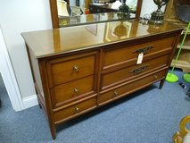 Wood Dresser with Mirror in St. Charles, Illinois