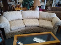 Curved Sofa from Marshall Fields in St. Charles, Illinois