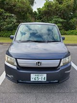 Honda Spike gray *JCI Mar 2022* in Okinawa, Japan
