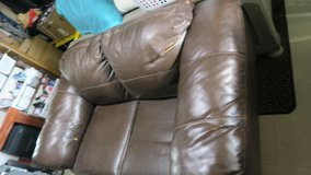 love seat couch new never used / no pets / new condition no space to put it must go asap in Okinawa, Japan