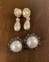 Faux Pearl Earrings in St. Charles, Illinois