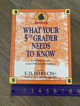 What Your 5th (Fifth) Grader Needs to Know Hardcover Book in Chicago, Illinois