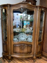 Dish Display Corner Cabinet Style Louis XV in Ramstein, Germany
