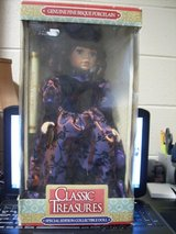 GENUINE FINE BISQUE PORCELAIN CLASSIC TREASURES DOLL Special Edition in Clarksville, Tennessee