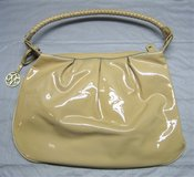 Johnston & Murphy Tan Patent Leather Purse - Satchel - With Dust Bag in Naperville, Illinois