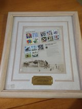 "STAMP COLLECTION~ 1930's~ ""CELEBRATE THE CENTURY"" FRAMED COLLECTION (1930""s) in Aurora, Illinois"
