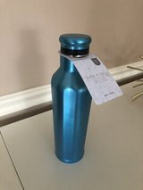 New Eco One 25oz Stainless Steel Water Bottle-Turquoise in Plainfield, Illinois