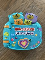 Leap Frog Hug & Learn Bears Book - Electronic Toy in Westmont, Illinois
