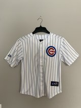 Cubs youth jersey in Plainfield, Illinois