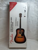 Fender FA-125 Dreadnought Natural Acoustic Guitar Bundle in Chicago, Illinois