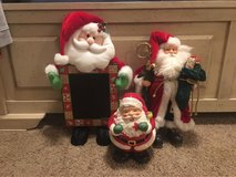 Santa Claus decor in Fort Leonard Wood, Missouri