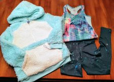 Girls work out or lounge set from Target in Size M 7/8 ~ most NEW – 3 pieces all for $7.00 in Plainfield, Illinois