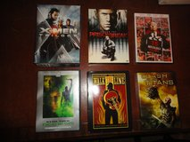 31 DVD's - like new condition - check out photographs and list - selling as one lot in Tomball, Texas