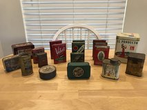 Miscellaneous Tins in Beaufort, South Carolina