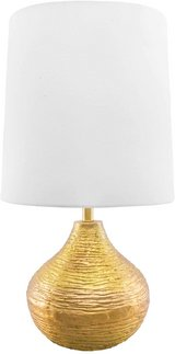 """Table Lamp, 27"""" Height - Brass / Gold - New! in Naperville, Illinois"""