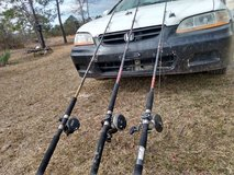 .fishing poles and reels combos. Deep sea. in Leesville, Louisiana
