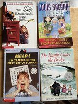 Chapter books lot in Okinawa, Japan