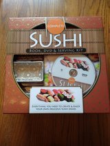 Complete Sushi Book, DVD, and Serving Kit in Conroe, Texas