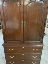 Armoire or media cabinet good condition in Plainfield, Illinois