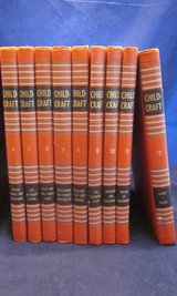 CHILD CRAFT Books 4 to 12 Orange Edition 1949 Hard Cover Set of 9 in Naperville, Illinois