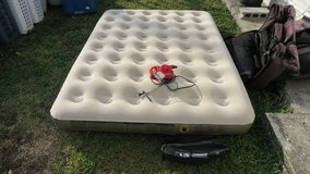 coleman air bed for 2  in good condition in Okinawa, Japan