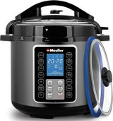 Mueller Pressure Cooker Instant Crock 10-in-1 Pot Pro Series 19 Program 6Q with German ThermaV T... in Plainfield, Illinois