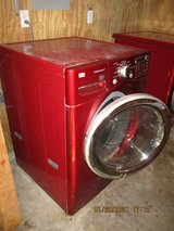 LG Steam Washer and Dryer in Leesville, Louisiana