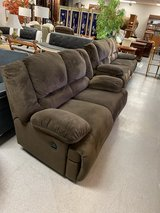 Ashley Dual Reclining Fabric Sofa & Love seat in Fort Lewis, Washington