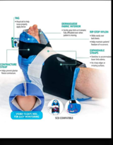 2 Heel Protectors Padded Foot Guards - Prevalon II in Chicago, Illinois