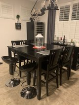 8 seater Pub Dining Table & 8 chairs in Travis AFB, California