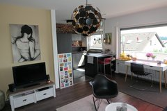 Attractive fully furnished Apartment at LE! Short distance to base! in Stuttgart, GE