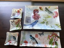 Birds and Butterflies Serving Set in Travis AFB, California