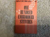 100 Embroidery Stitches Booklet in Camp Lejeune, North Carolina