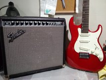 Electric guitar and Amplifier in Aurora, Illinois