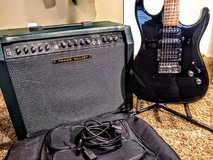 Electric guitar and fender Amplifier in Aurora, Illinois