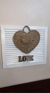 Beautiful wooden shutters  wall decor in Chicago, Illinois