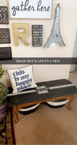 Solid wood Entryway/Mudroom seat bench in Chicago, Illinois