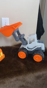 Five piece kids accent pillows and trucks in Chicago, Illinois