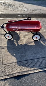 like new metal Red wagon in Chicago, Illinois