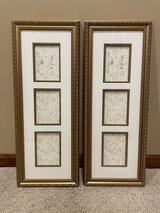 "2 Collage Picture Frames With 3 4"" x 6"" Picture Displays in Chicago, Illinois"