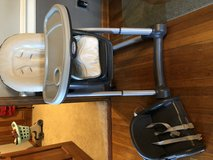 High chair and booster in Aurora, Illinois