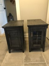 Two End Tables with USB and Power Outlets in Plainfield, Illinois