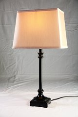 Transitional style Table Lamp and Shade in Plainfield, Illinois